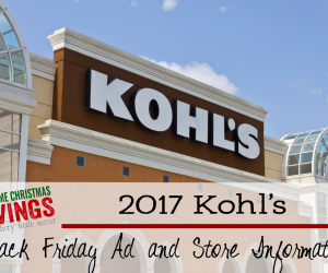 EVERYTHING You Need to Know About the Kohl's Online Black Friday Sale