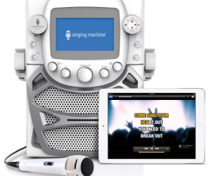 Singing Machine CD+G Karaoke Bluetooth System $29.97 (was $75)