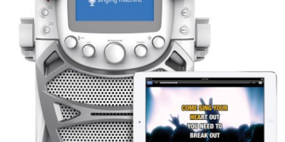 Singing Machine CD+G Karaoke Bluetooth S...