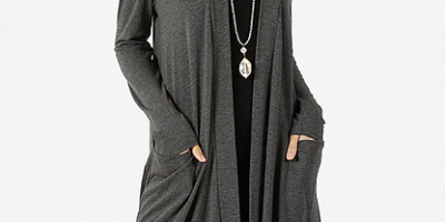 Slouchy Pocket Open Cardigan $17.99 (was...
