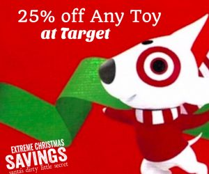 LAST DAY! Target: Extra 25% off of Any Toy   GREAT Deals on Popular Toys!