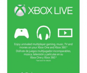 Xbox Live 12 Month Gold Membership $42.99 (was $59.99)