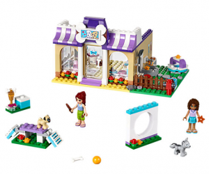 Buy LEGO Heartlake Puppy Daycare $29.99 Get FRIENDS Mini Keepsake Box Free