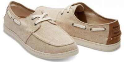 $42.99 (WAS $64.95) TOMS Boat Shoes SALE...