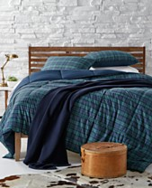 Macy's Plaid Bedding Collection