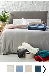 $13.99 (was $50) Martha Stewart Collection Soft Fleece Blankets