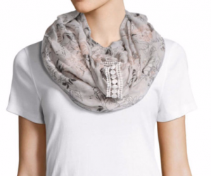 $8.99 (was $28) JC Penney Mixit Infinity Scarf