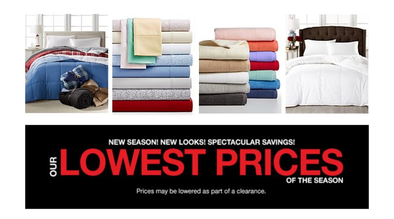 Macy's lowest prices of the season