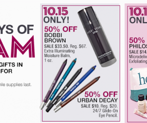 Save 50% Plus Free Gifts on Select Beauty at Macy's