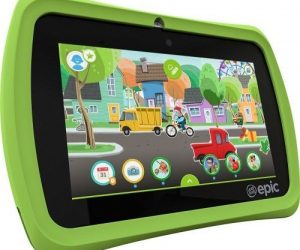 $54.93 (was $99) LeapFrog Epic 7″ Android-based Kids Tablet 16gb Green – Seller refurbished