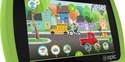 $54.93 (was $99) LeapFrog Epic 7″ Android-based Kids Tablet 16gb Green – Seller refurbished