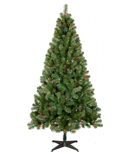 29 99 Was 59 99 6ft Prelit Slim Artificial Christmas