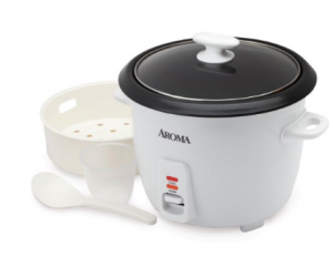 $12.32 (was $28.99) Aroma 14-Cup Rice Cooker