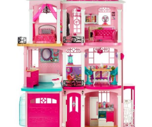 $164 (was $199.99) Barbie DreamHouse Playset with 70+ Accessory Pieces