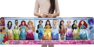 $59.99 (was $99.88) Disney Princess Shimmering Dreams Collection 11 Pack