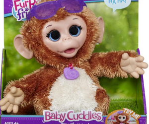 $14.99 (was $19.99) FurReal Friends Baby Cuddles My Giggly Monkey Pet