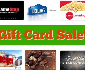 Gift Card Sale – Build A Bear, Game Stop, TGI Friday's & More!