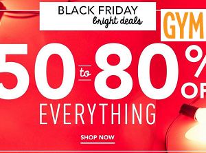 Gymboree Black Friday Sale Up To 80% Off! Shoes For $4.99!