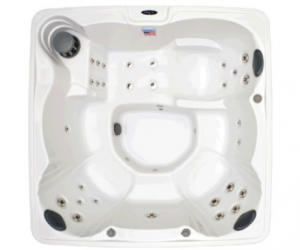 $3,522.72 (was $5,399.99) Home and Garden Spas 6 Person 32 Jet Hot Tub
