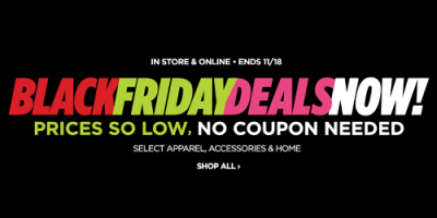 Select Black Friday Deals Live Today Onl...