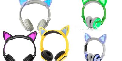 $14.99 (was $99) Jamsonic DJ-Style Light-Up Cat