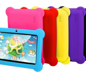 $41.99 (was $75.99) 8GB 7″ Kids' Tablet With Case