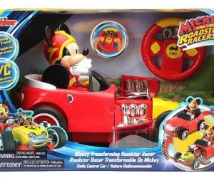$29.82 (was $49.99) Mickey Transforming Roadster RC