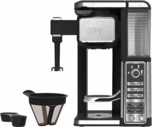 $64.99 (was $179.99) Ninja Single Serve Coffee Bar Machine Pod Free Coffee Maker System with Frother