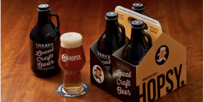 $16 (was $50) FOUR 32 oz Craft Beer Fill...