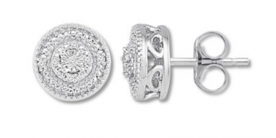 $19.99 (Was $70) Diamond Earrings and Necklaces from Kay Jewelers