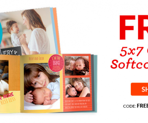 FREE 5×7 Photobook   Just Pay $3.99 Shipping