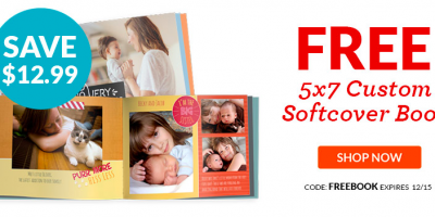 FREE 5×7 Photobook | Just Pay $3.99 Shipping