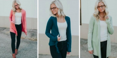 $6.99 (was $36) Everyday Cardigan Blowou...