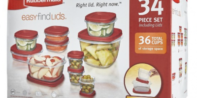 $6.55 (Was $25) Rubbermaid® Food Storag...