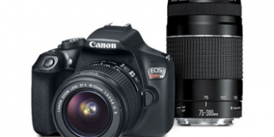 $249 (was $599) Canon T6 + 2 Lenses (Man...