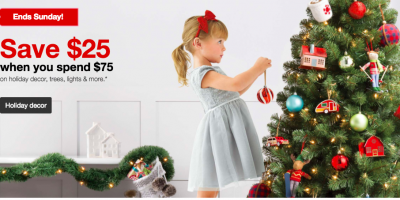 Target: Save $25 on a $75 Holiday Decor ...