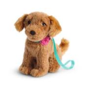 American Girl Golden Retriever Dog