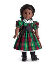 American Girl Christmas Dress