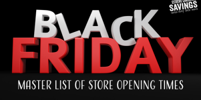 Master List of 2017 Black Friday Store O...