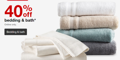 40 Percent Off Bedding And Bath