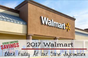 2017 Walmart Black Friday Information