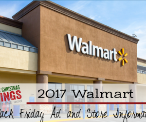 Walmart Black Friday Ad and Store Information