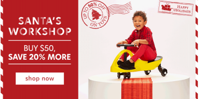 Buy $50 Worth Of Select Toys Get Extra 2...