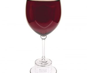 Fun Holiday Gag Gift - The Wine Glass of Champions