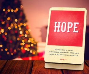 $18(was $23) Hope Deck- Decorative Encouraging Scripture Cards