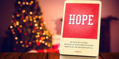 $18(was $23) Hope Deck- Decorative Encou...