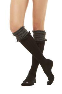 Knee boot socks