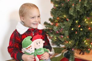 Personalized Christmas Elf Plush Dolls