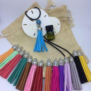 Essential Oils Tassel Diffuser Necklace
