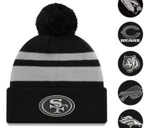 $11.99 (was $22.99) NFL Cuffed Hat With Pom